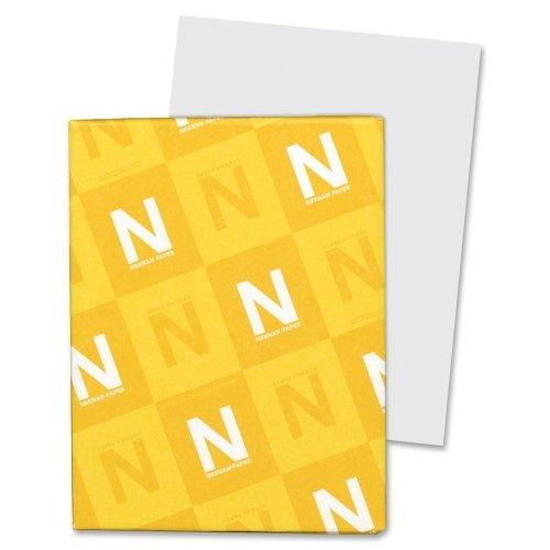 Wholesale CASE of 15 - Wausau Exact Vellum Bristol Paper-Vellum Bristol Paper,67 lb,8-1/2''x11'',92 Bright,250/PK,GY