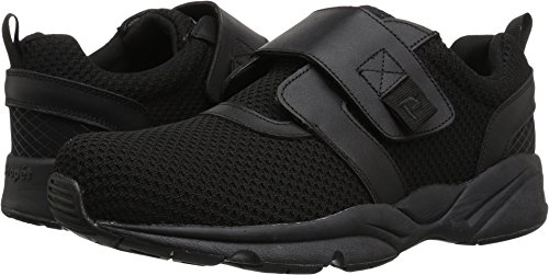 Propet Men's Stability X Strap Sneaker, Black, 15 Wide US