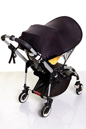 Dreambaby Strollerbuddy Extenda-Shade, Black, Large by Dreambaby (Image #6)