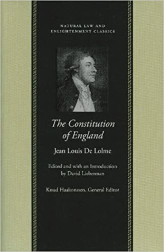 Book Constitution of England: Or, an Account of the English Government (Natural Law and Enlightenment Classics) (Natural Law and Enlightenment Classics )