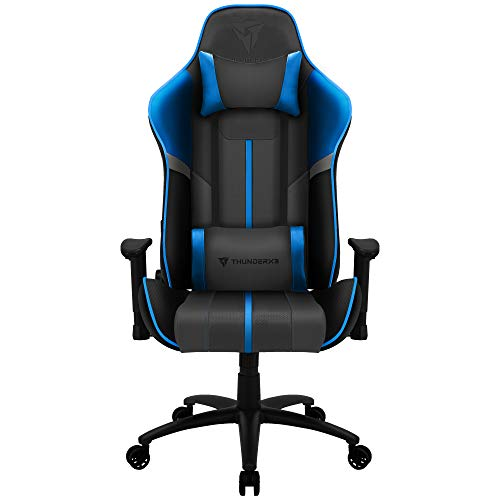 ThunderX3 BC3 BOSS, silla gaming tecnologia AIR, transpiracion total, azul