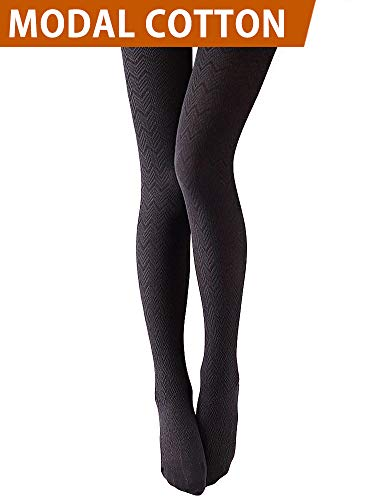 (VERO MONTE 1 Pair Stretchy Tights Hue Tights 4 Women Control Top Tights)