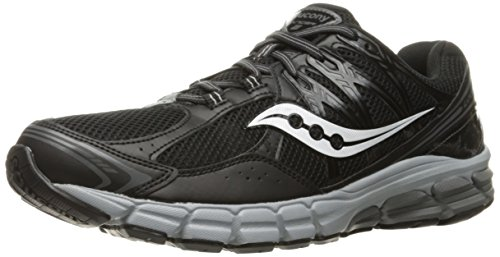 Saucony Men's Progrid Lancer 2 Running Shoe - Black/Grey ...
