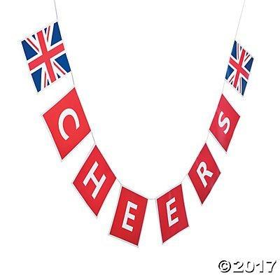 Fun Express Inc. British Party Garland Banner ()