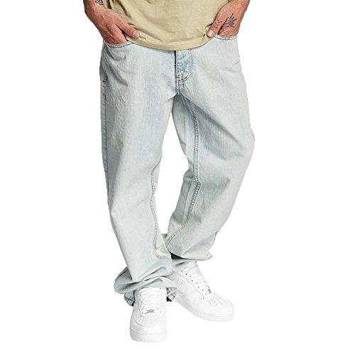Rocawear Herren Jeans / Loose Fit Jeans Mirror blau W 44