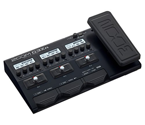 Zoom G3Xn Multi-Effects Processor with Expression Pedal for Guitarists - Expressions Cabinet