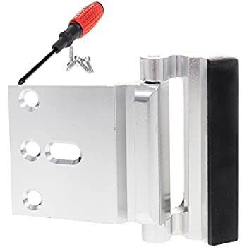 Defender Security U 10827 Door Reinforcement Lock Add Extra High Security To Your Home And
