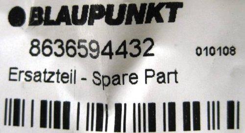 BLAUPUNKT Abdeckplatte Geh/äuseblende CD-Wechsler IDC A 09 Ersatzteil 8636594432