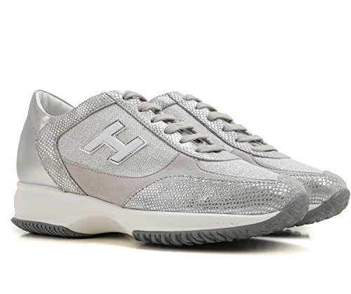 Hogan, Damer Sneaker Sølv / Sort