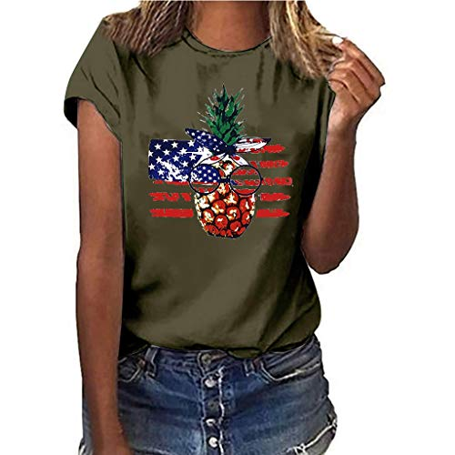 Womens Summer Tees, Plus Size Lip Print T-Shirts, Casual Short Sleeve Graphic Tee, Fashion Chic Top Blouses Bronze