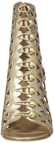 Women's Heeled Gold Sandal Guess Perlina2 a1xPC