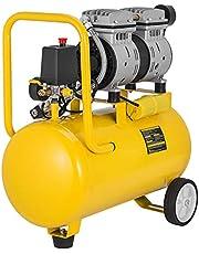 VEVOR Luchtcompressor, 24 l, elektrische luchtcompressor met laag geluidsniveau 500 W, 220 V, maximale ontlading 116 PSI (8 bar) en 4 CFM, directe aandrijving van de luchtcompressor zonder olie.