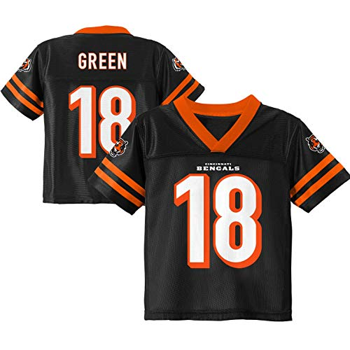 (A. J. Green Cincinnati Bengals Black Youth Player Home Jersey (Large 14/16))