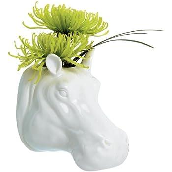 Amazon Torre Tagus 900904 Safari Porcelain Hippo Wall Vase