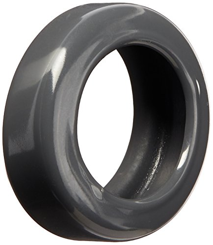 Like New Solutions Caster Tire, Fits Over Existing Hard Wheel Caster, Charcoal, Pack of 10 (88457) (Vinyl Fits Tire)