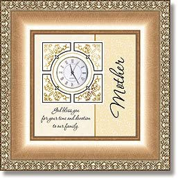 Framed Table Clocks – Mother
