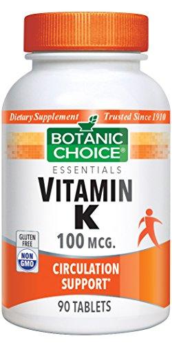 Botanic Choice Vitamin K Bottle (Pack of 10) by Botanic Choice