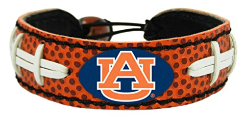 Auburn Tigers Bracelet - Classic Football---(Package of 2) ()