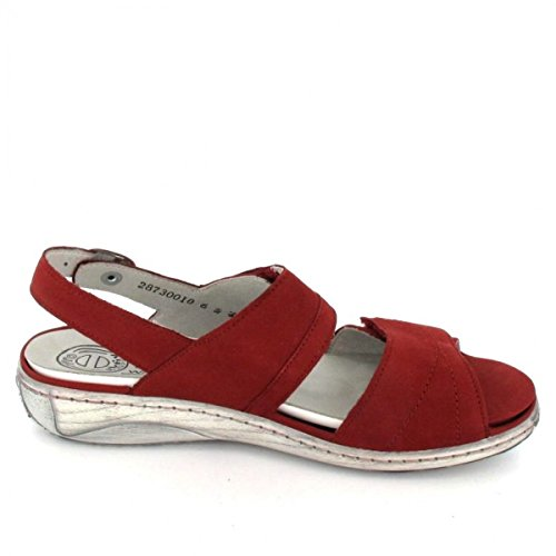 Waldläufer Sling Sandalette Garda, Farbe: rot