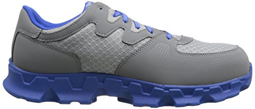 Grey Alloy Industrial Toe Shoe Timberland Blue EH Powertrain PRO and Microfiber Textile Men's awOtxq8Z
