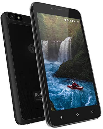 ROKiT iO Light Android Phone – 5″ GSM Unlocked Smartphone – 3G Dual Micro Sim Cell Phone w/ 8GB Memory & 5MP Camera (Black)