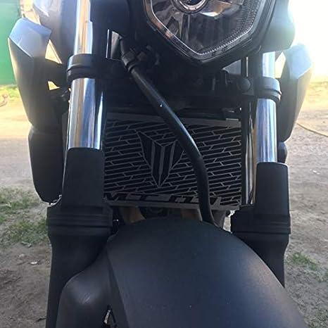 Color : Silver Moto Accessoires 2006-2013 MT03 MT03 Motorcycle Calandre Grill Guard Protecteur Fit for Yamaha MT03 MT03 MT 03 2006-2013 660 CC