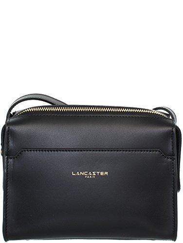 Bag cm Camelia schwarz cuir bandoulière Mini Sac 19 Lancaster schwarz qawpESWp