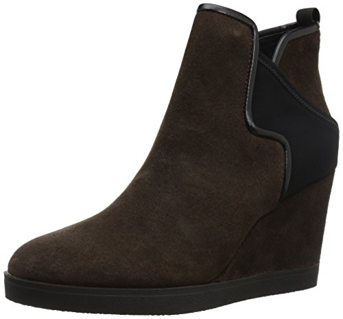 Donald J Pliner Women's Luluu Ankle Boot Dark Brown
