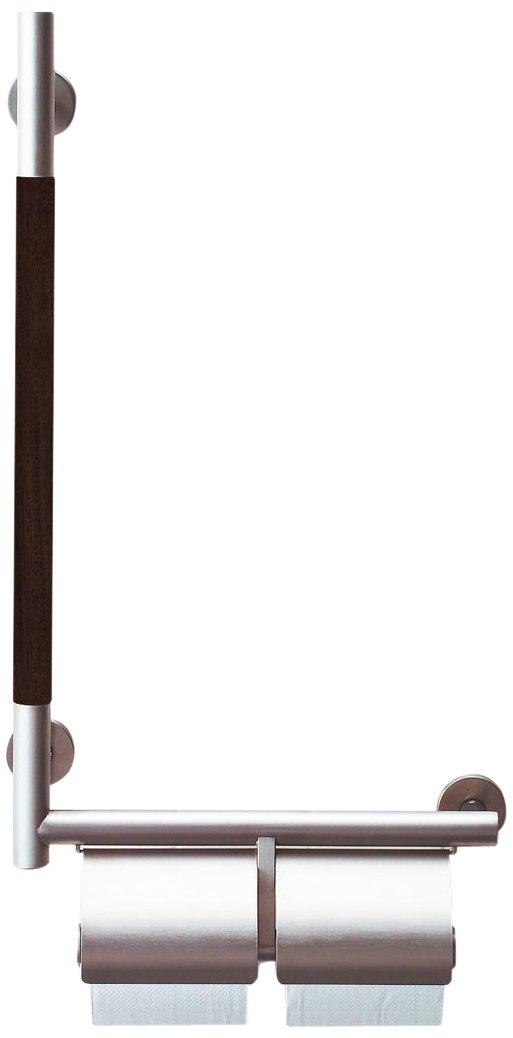 品質が完璧 LIXIL(リクシル) INAX B00DQ3YMJS トイレ用 紙巻器付 手すりKMタイプ 紙巻器付 右仕様 クリエダーク INAX KF-M10WR/LD B00DQ3YMJS, 【築地通販】おいしいなショップ:21985756 --- teste.bsicapital.com.br