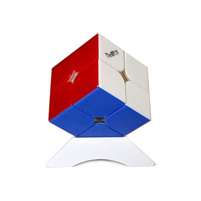 OJIN VALK 2 M Cube The Valk 2m 2 Layer 2x2x2 MoFangGe Cubo Magico Liscio con Un treppiede cubo e Una Borsa cubo Senza Adesivo