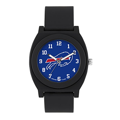 NFL Buffalo Bills Mens Fan Series Wrist Watch, Black, One Size