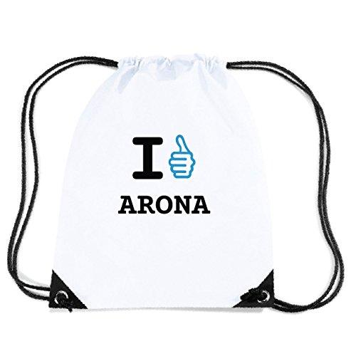 JOllify ARONA Turnbeutel Tasche GYM3542 Design: I like - Ich mag 9zUH2JcDwG
