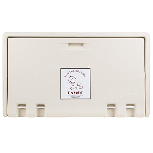 Koala Kare KB200-00 Horizontal Wall Mounted Baby Changing Station, Cream (Light Cream) - Kid E-kare Flush