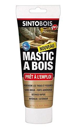 Sinto 39700 Tube de Mastic à bois Pâte Bois Blond SI39700