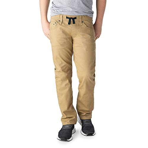 Signature by Levi Strauss & Co. Gold Label Boys Athletic Recess Fit Jeans, British Khaki, 10