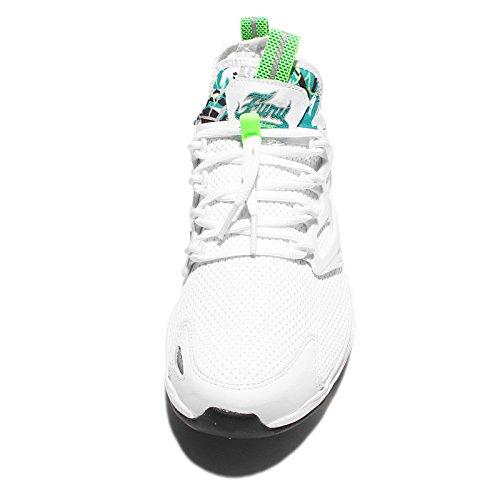 Reebok Mens Fureur Adapter Ar, Blanc / Bleu Sarcelle / Vert / Noir / Gris Blanc / Bleu Sarcelle / Vert / Noir / Gris