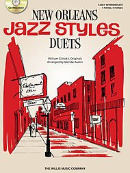 Willis Music New Orleans Jazz Styles Piano Duets (Early Intermediate, 1 Piano, 4 Hands) ()