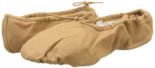 SANSHA 1C PRO1C Chaussure de danse Demi-pointes pour Femme en Toile - Marron (Flesh) - 39 EU (Taille Fabricant: 9)