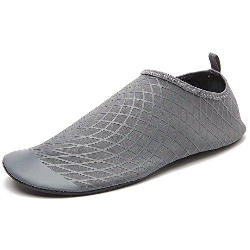 Männer Frauen Barfuß Aqua Socken Slip On Quick Dry Wasser Sport Haut Schuhe  für Tauchen Schnorcheln