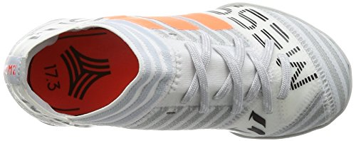 adidas Unisex-Kinder Nemeziz Messi Tango 17.3 Tf J Fußballschuhe verschiedene Farben (Ftwbla/Narsol/Negbas)