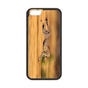 Case Cover For SamSung Galaxy S6 Rush Leopard Cool Wild Hard Frame & PC Hard Back Protective Cover Bumper Case for Case Cover For SamSung Galaxy S6 (2014)