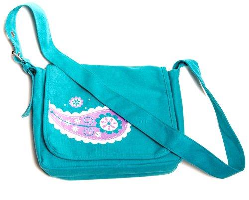 Faithgirlz Messenger Bag Teal Medium