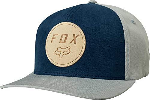 (Fox Men's RESOLVED Flexfit HAT, Grey S/M)