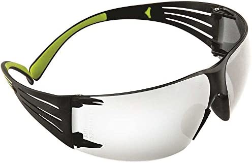 3M Safety SF401AF 400 Series SecureFit Protective Eyewear, Clear Anti-Fog Lens (Case of 20)