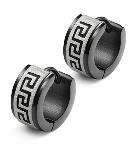 Jstyle Jewelry Stainless Earrings Huggie
