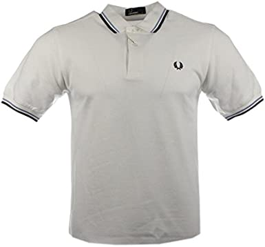 Fred Perry Polo M3600 - 471 Azul oscuro slim fit: Amazon.es: Ropa ...