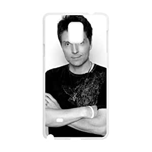 Samsung Galaxy Note 4 Cell Phone Case White Richard Marx Personalized Phone Case Clear CZOIEQWMXN1953