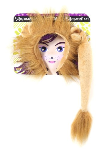 Lion Halloween Costume For Women (Forum Novelties Women's Lion Costume Accessory Kit, Multi, One Size)