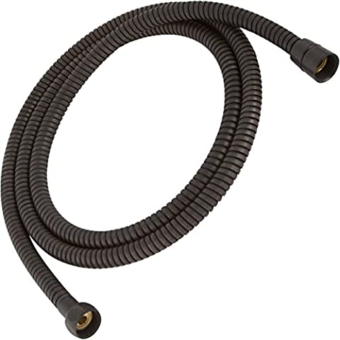 Aqua Elegante 60 Inch Flexible Shower Hose - Extra Long, Stainless Steel, Double-Buckle For Handheld Showerhead - Oil-Rubbed (Alsons Hand Shower Parts)