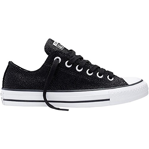Converse Chuck Taylor All Star Stingray Metallic Black Leather 35.5 EU